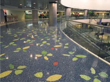 上海环氧树脂彩砂地坪上海环氧地坪上海环氧地坪哪家好?图片